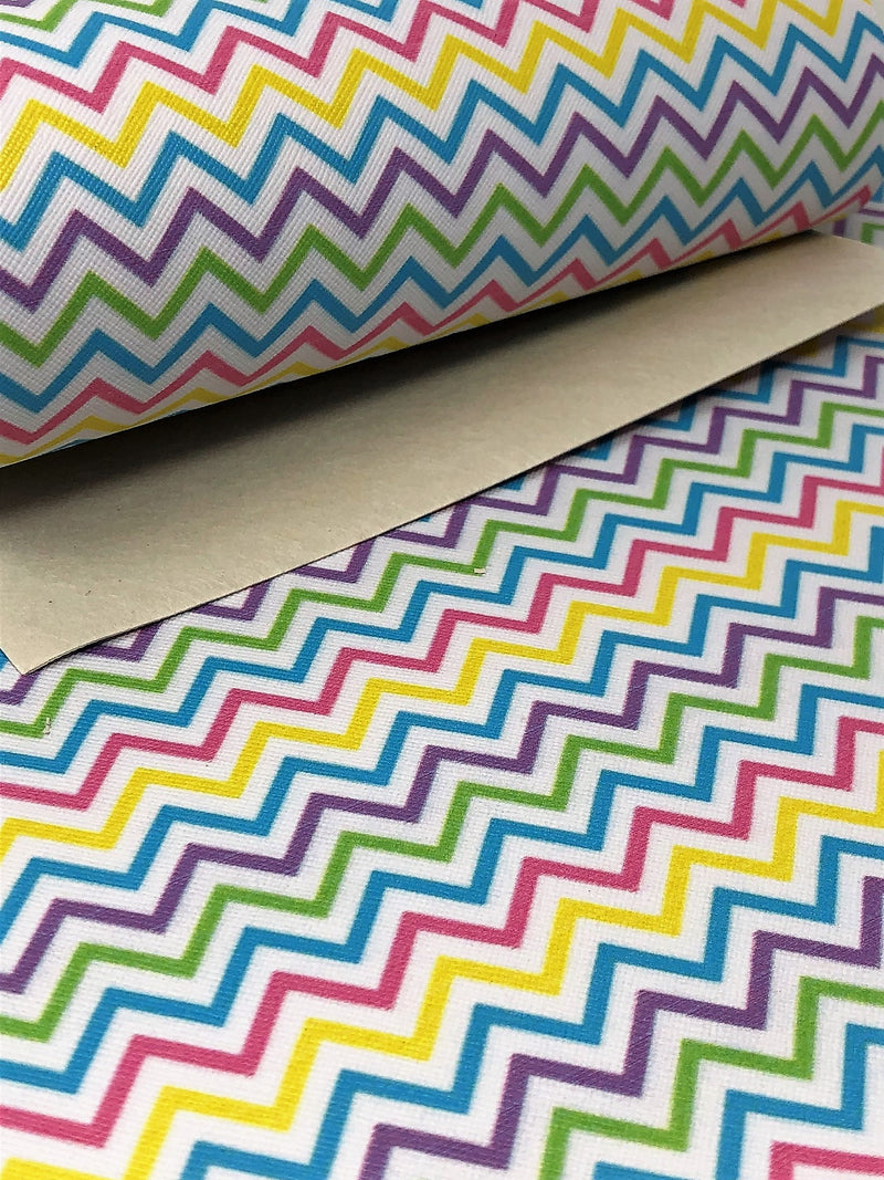 Spring Chevron Sheet
