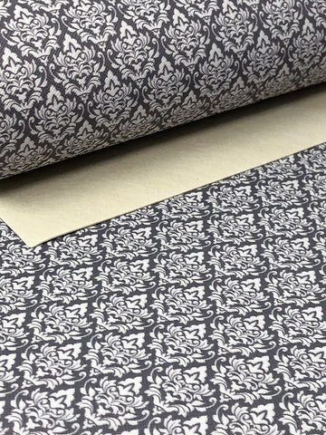 Grey Damask Sheet