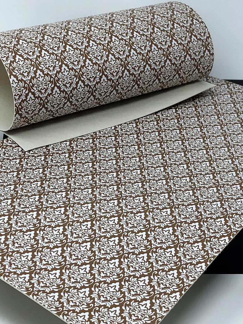 Brown Damask Sheet