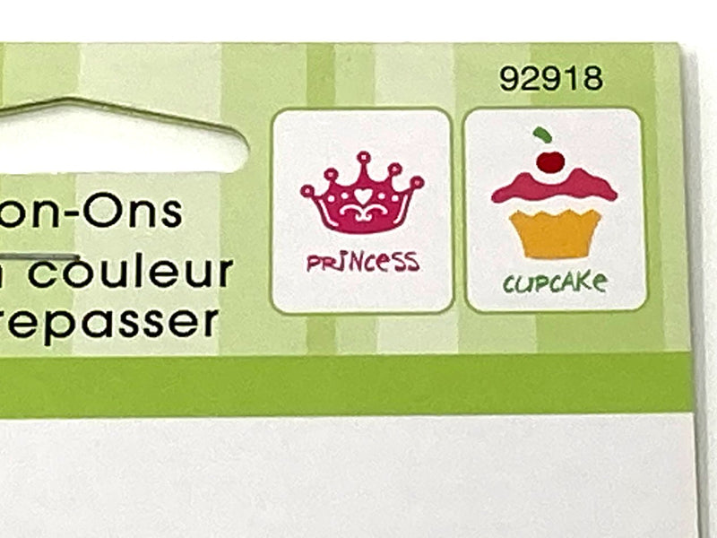 Princess and Cupcake Iron-On Transfers