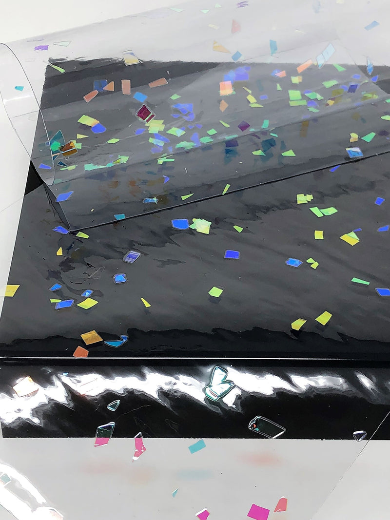 Clear Sequin Jelly Sheet