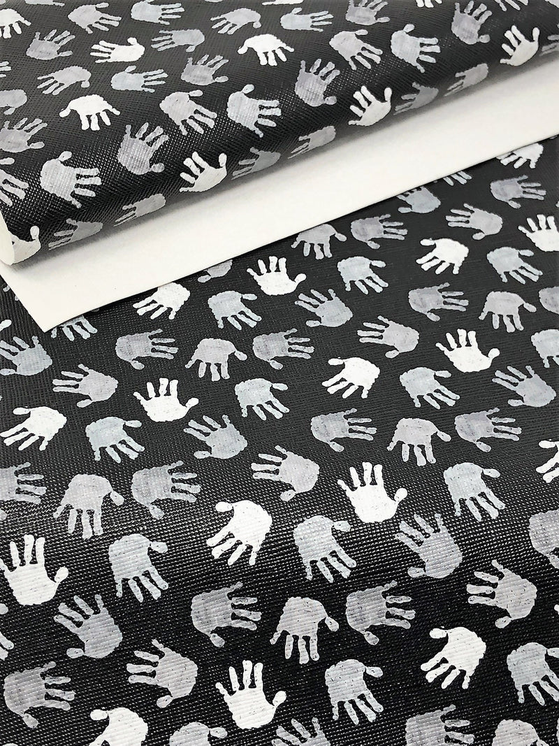 Black and White Hands Sheet