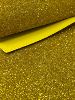 Gold Glitter Foam Sheet