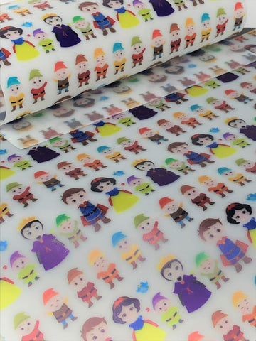 Snow White Jelly Sheet