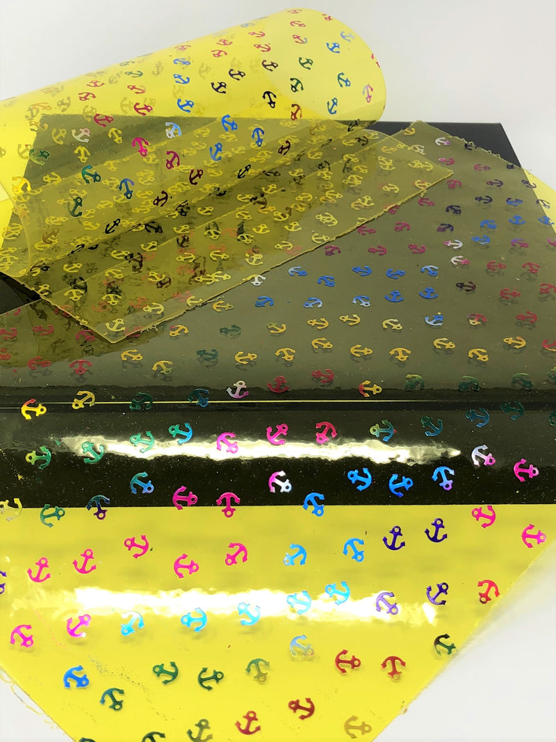 Yellow Anchor Jelly Sheet