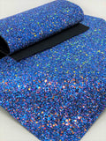 Blue Iridescent Glitter Sheet