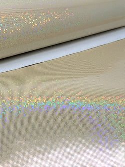 Champagne Laser Dot Sheet