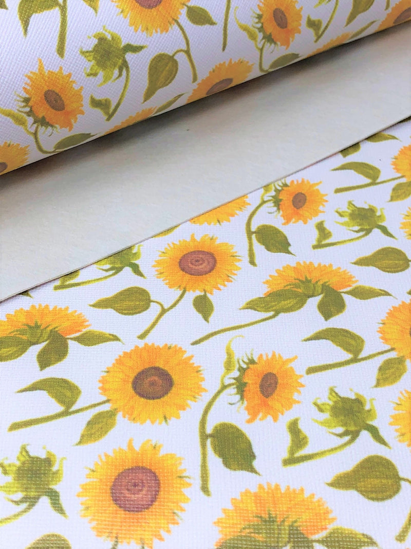 Scattered Sunflowers Sheet