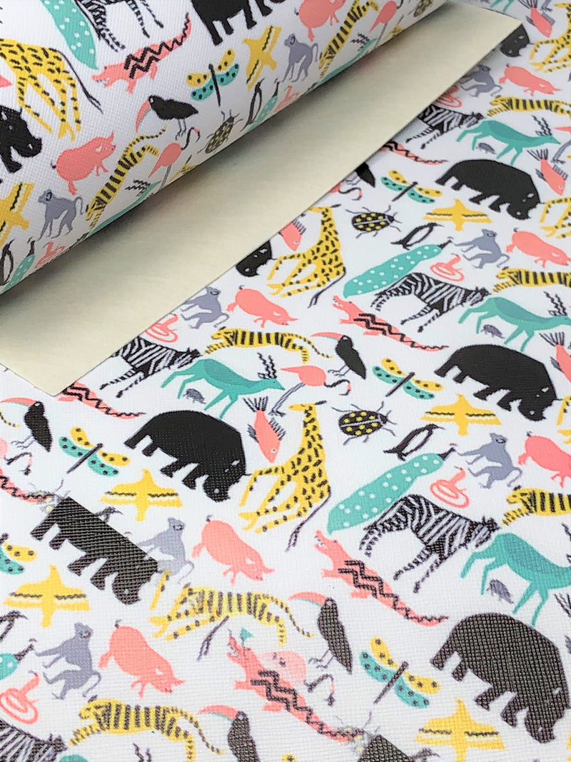 Zoo Animals Sheet