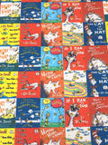 Dr Seuss Glitter Star Book Covers Roll