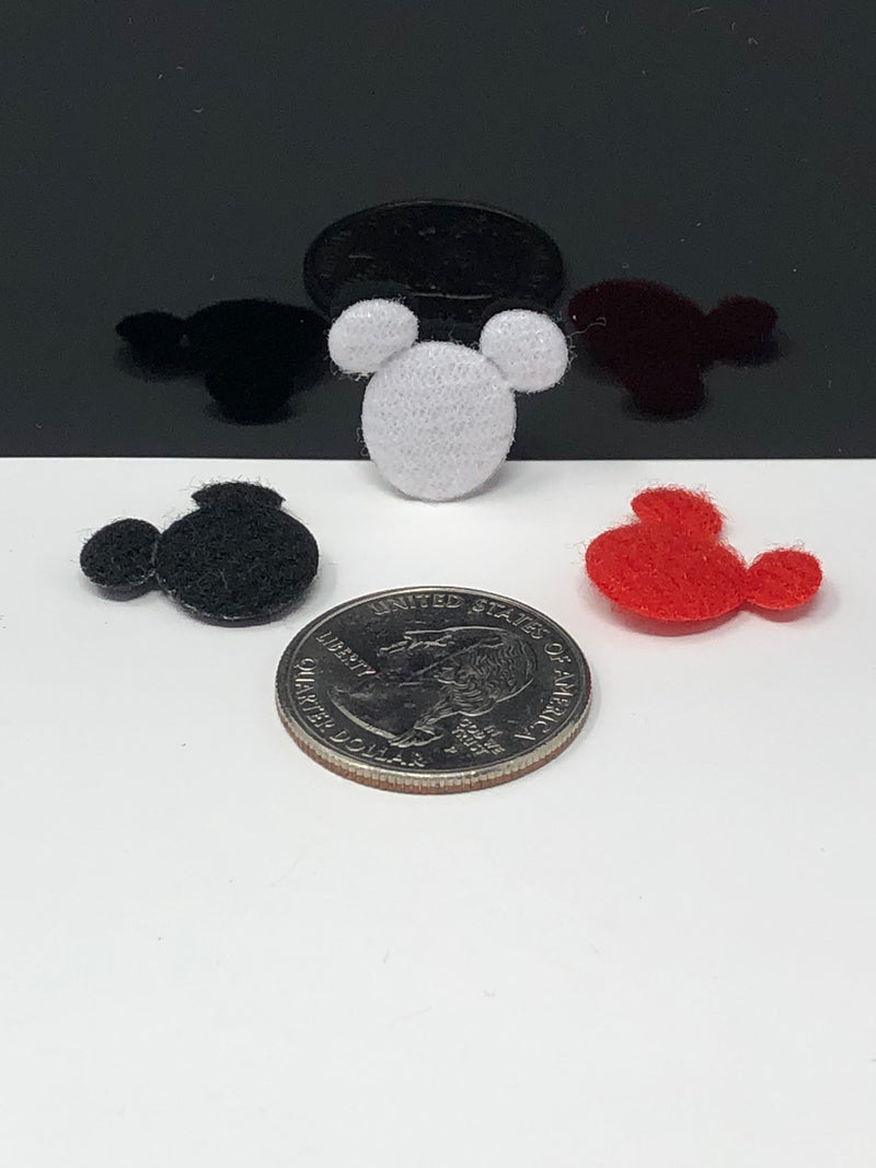"1/2"" Mouse Head Applique Set"