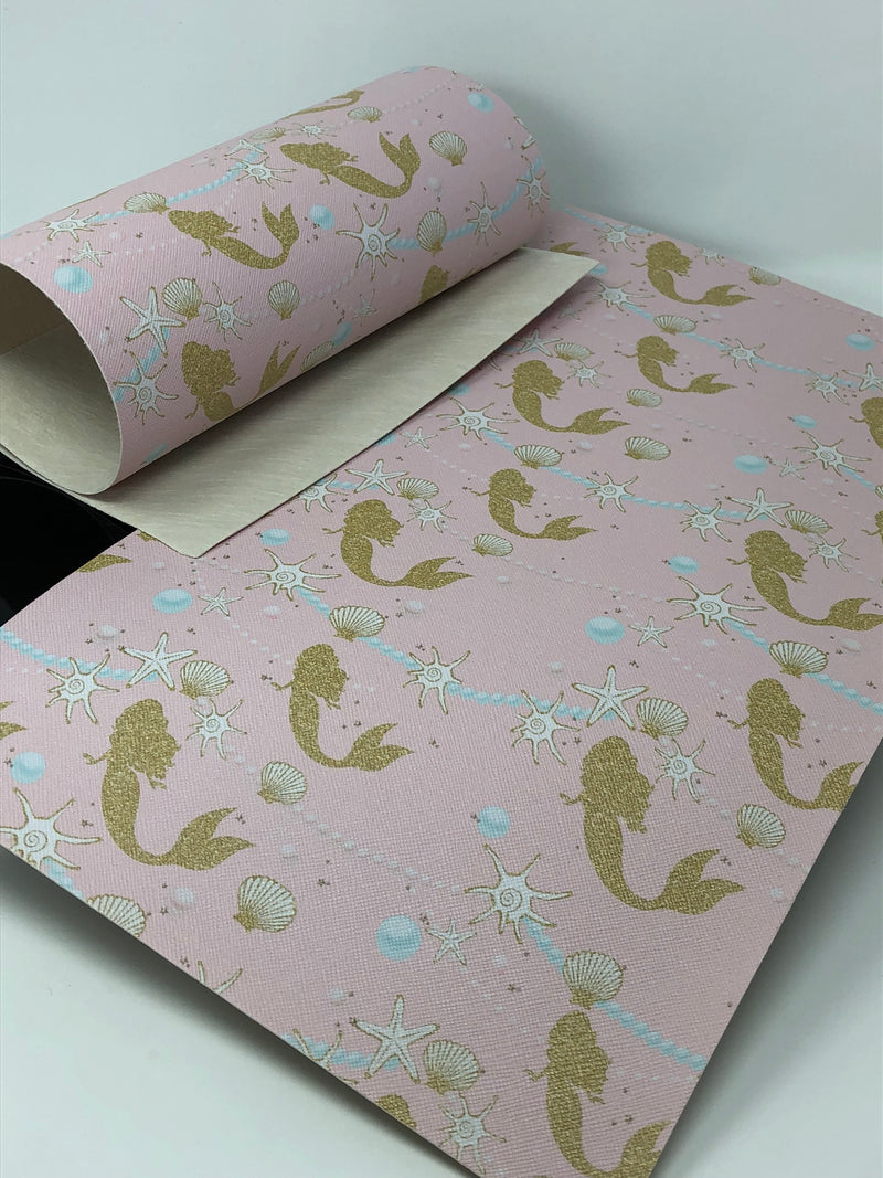 Gold Mermaid Sheet