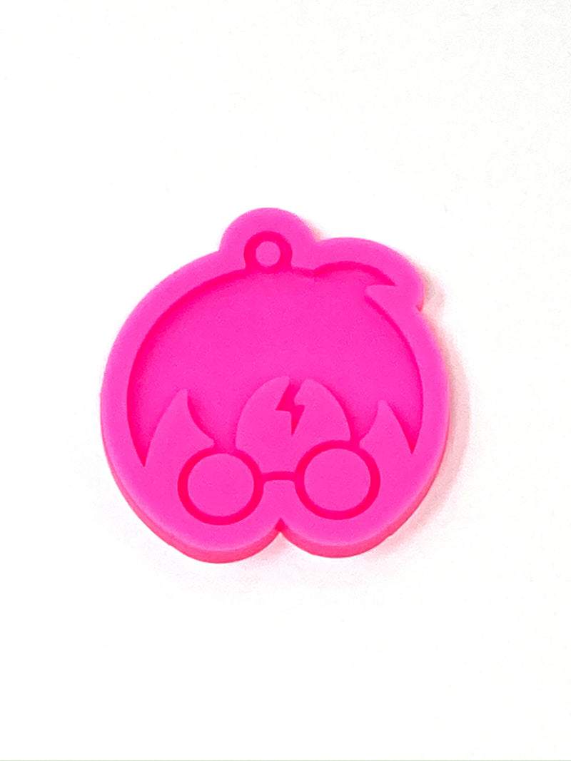 HP Head Keychain Resin Mold