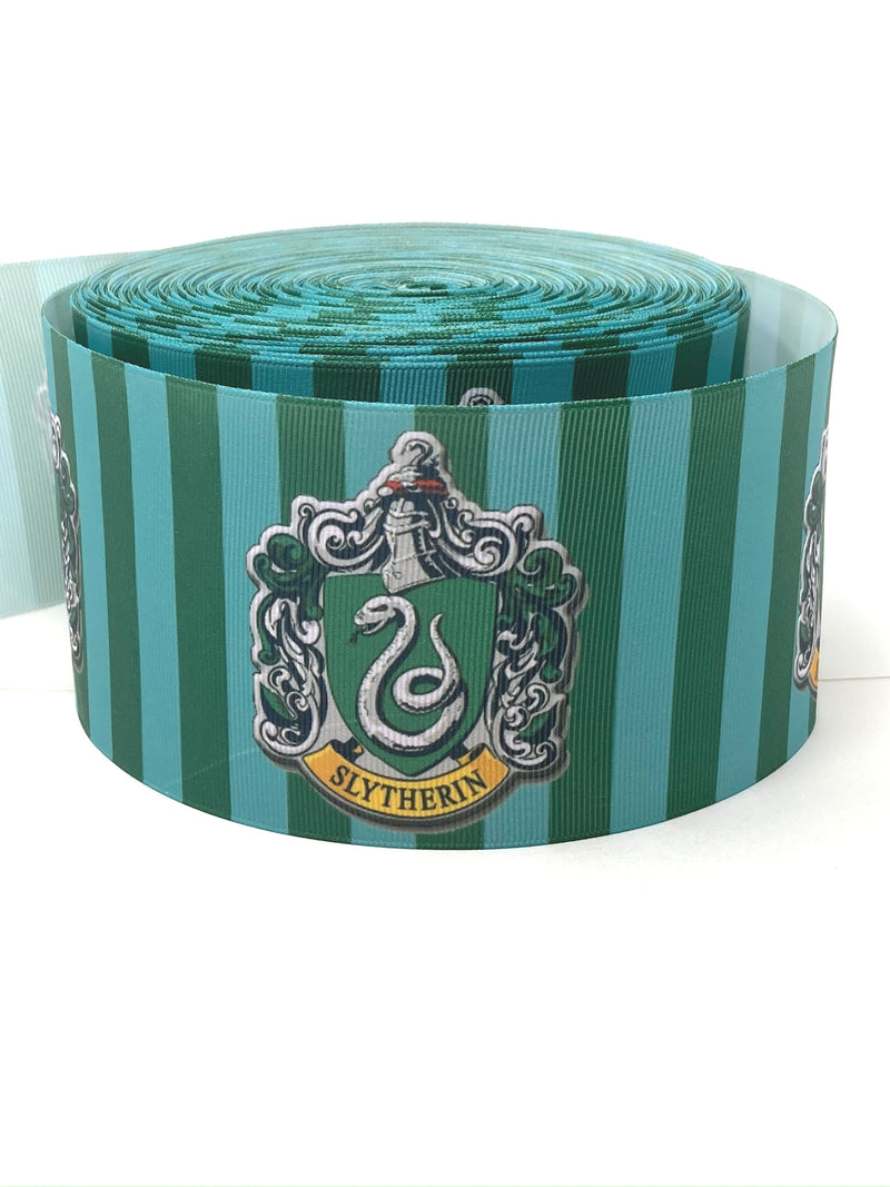 "3"" Slytherin Stripes Ribbon"