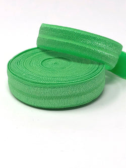 Solid Light Green Fold Over Elastic