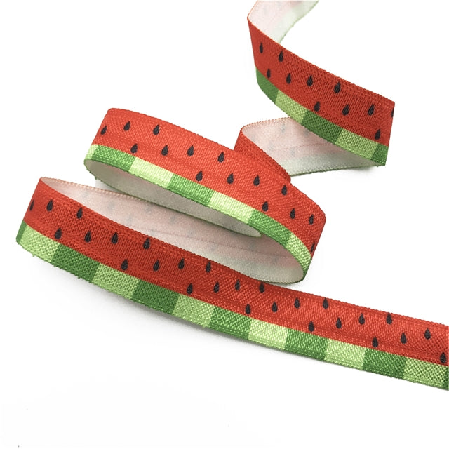 Watermelon Fold Over Elastic