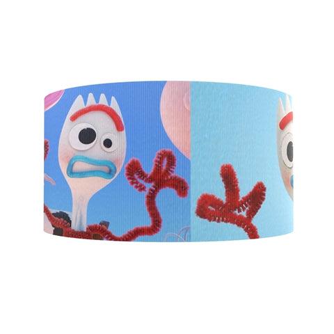 "3"" Forky Ribbon"