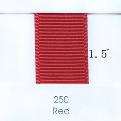 "1.5"" Solid Red Ribbon"