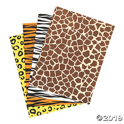 Animal Print Foam Sheet Set