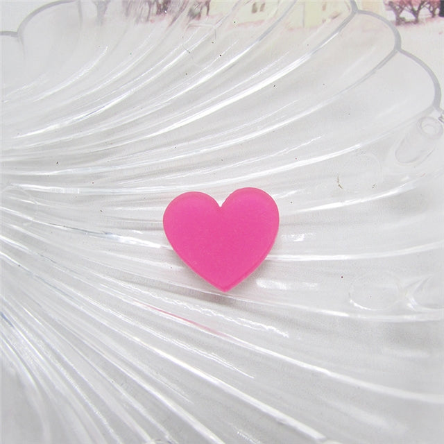 Frosted Heart Planar Resin