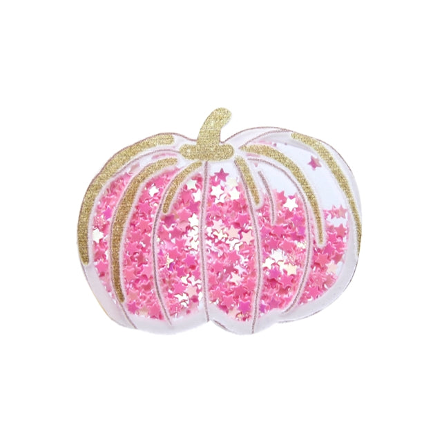 Pink Pumpkin Shaker Resin