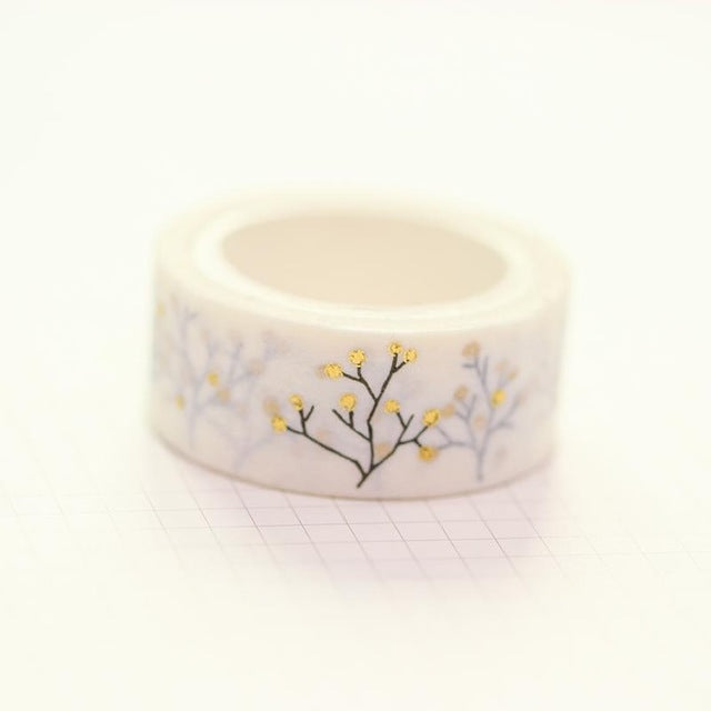 Gold Branches Washi Tape
