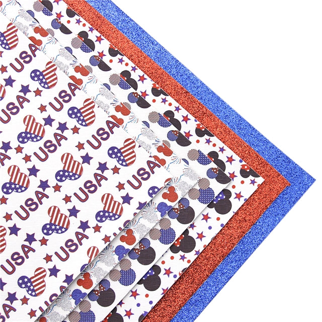 Patriotic Mouse Sheet Pack (6 sheets)
