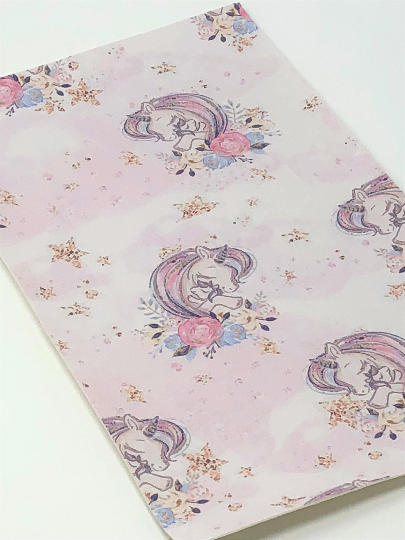 Sleeping Unicorn Mom and Baby Sheet