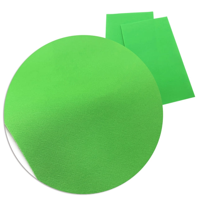 Solid Neon Green Sheet
