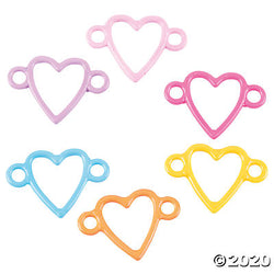 Colorful Heart Connectors