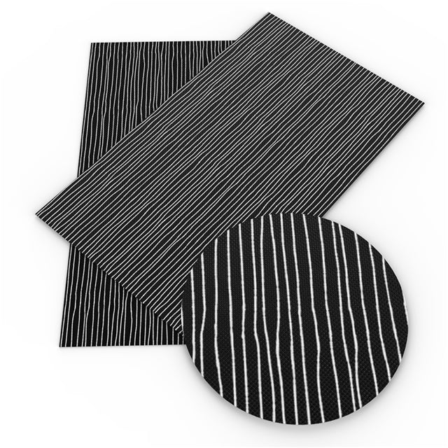 Jack Stripes Faux Leather Sheet