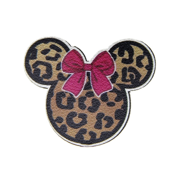 Wild Mouse Faux Leather Patch