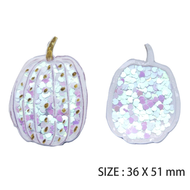 White Pumpkin Shaker Resin
