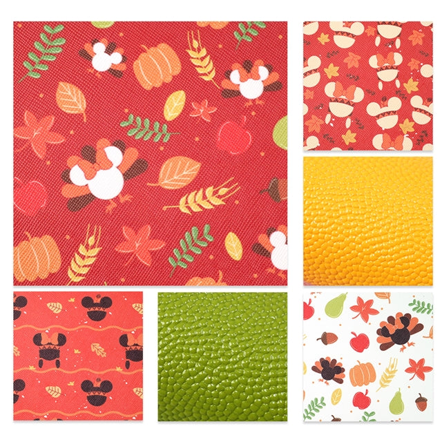 Thanksgiving Mouse Sheet Pack (6 sheets)