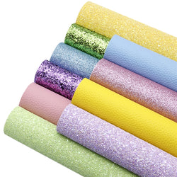 Spring Glitter and Litchi Sheet Pack (10 sheets)