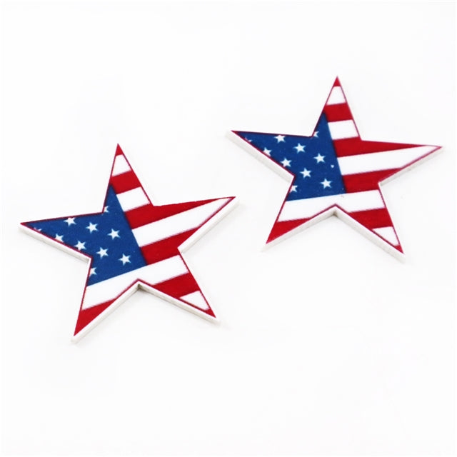 Flag Star Planar Resin