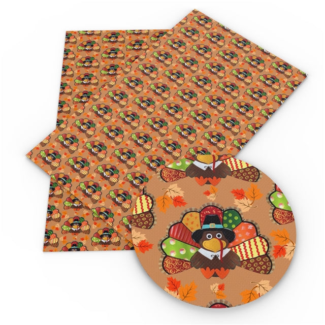 Patchwork Turkey Faux Leather Sheet