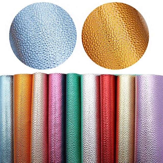 Metallic Litchi Sheet Pack (9 sheets)