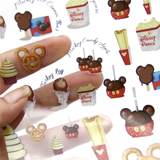 Theme Park Treats Jelly Sheet