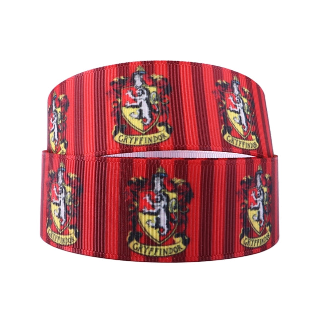 "1"" Gryffindor Stripes Ribbon"