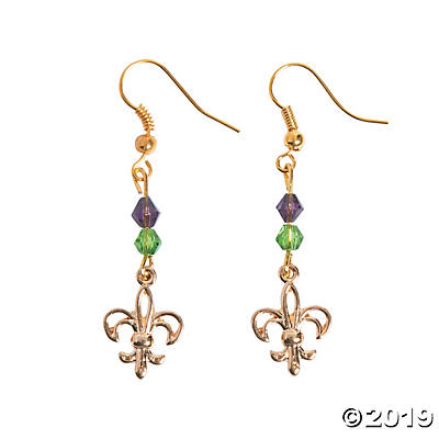 Fleur De Lis Wire Earrings Wire Craft Kit