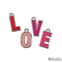 Letter Love Charms