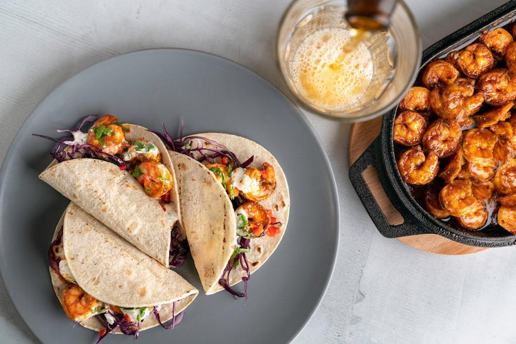 Cayenne-Spiced Shrimp Tacos
