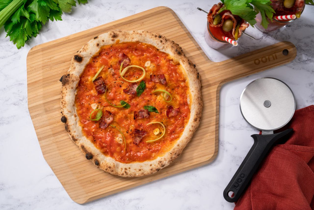 Bloody Mary Vodka Pizza