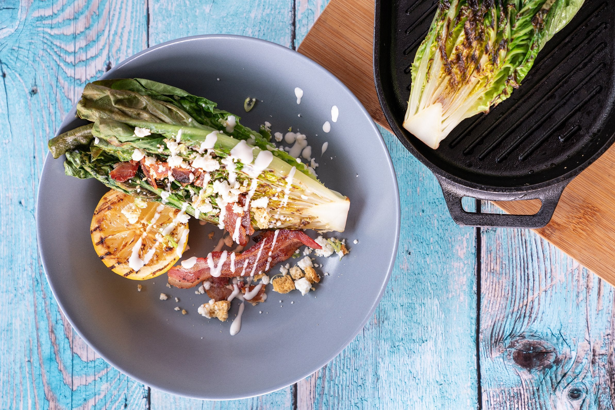 Grilled Caesar Salad Featured Image