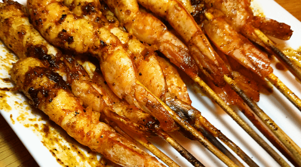 Spanish Prawn Skewers – Wood Fired (BBQ Week) Featured Image