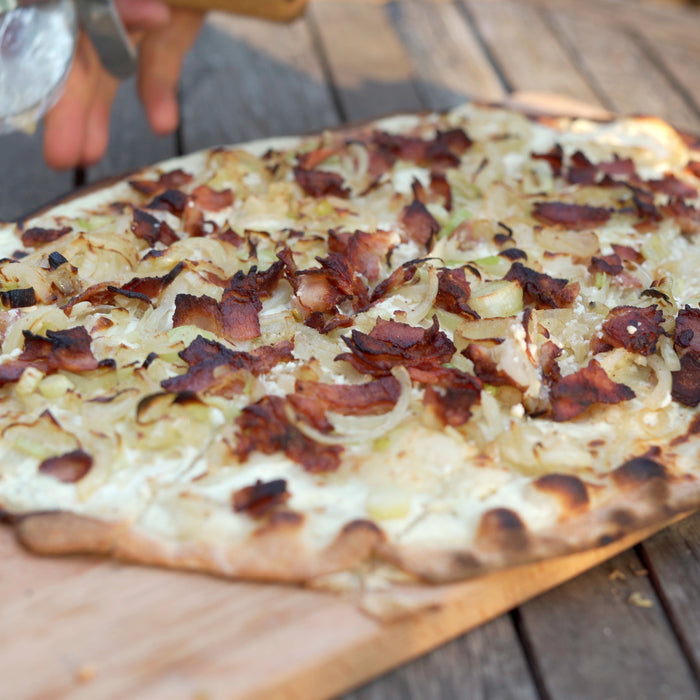 Traditional Flammkuchen