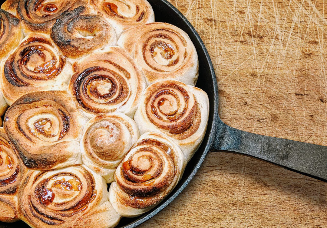 Pizza Dough Cinnamon Rolls Featured Image