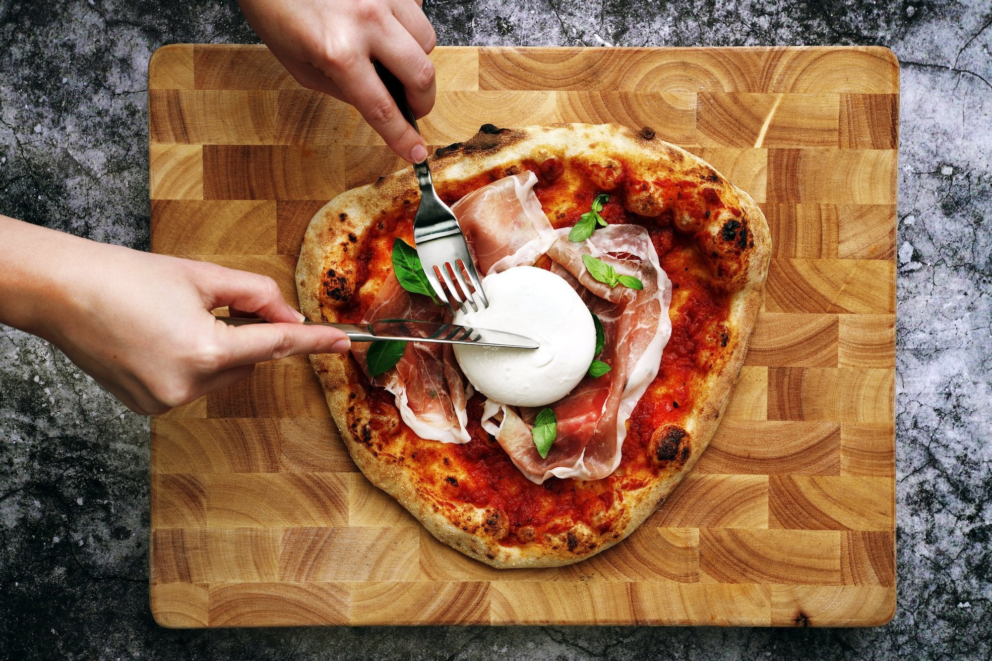 Burrata Pizza Featured Image