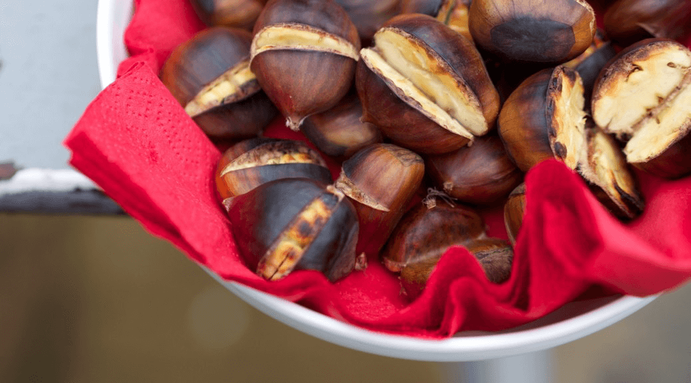 Roasted Chestnuts [Simple Oven Recipe] Featured Image